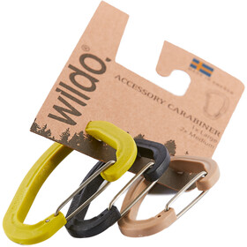 Wildo Accessory Carabiner Set de Tres 2xM 1xL, hunt